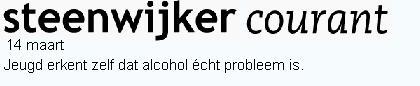 Jeugd alcohol