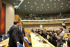 cc Flickr Minister-president Voorafgaand aan debat Regeringsverklaring